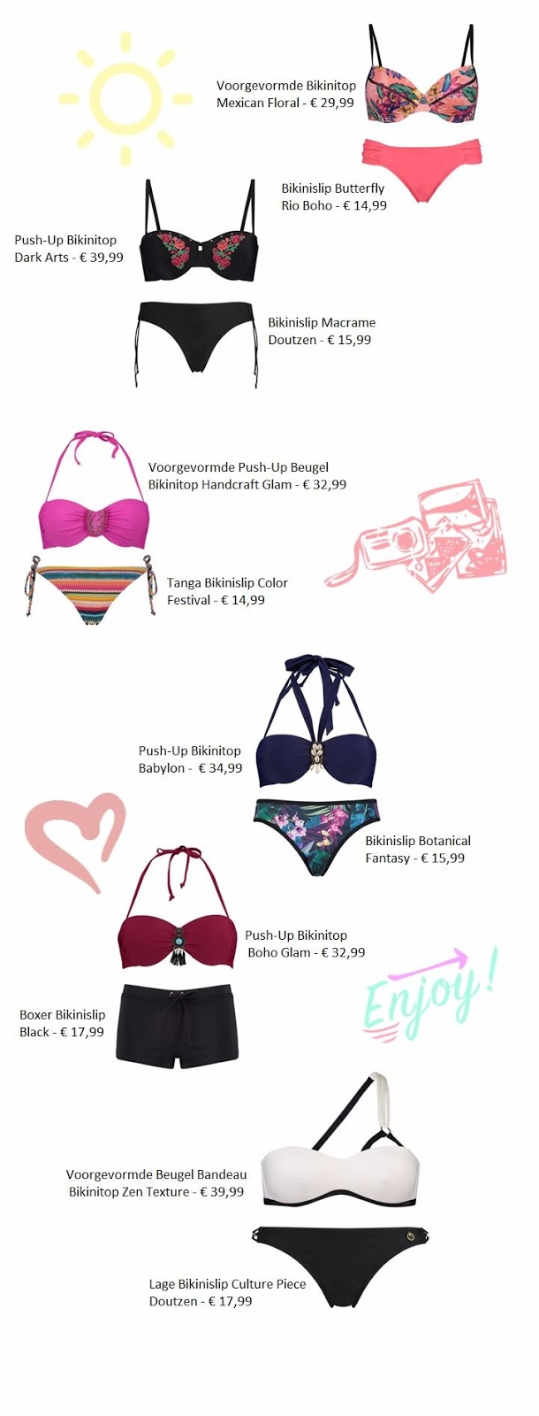 60633 bikini2b22btest - INSPIRATIE | 10 X LEUKE MIX & MATCH BIKINI'S VAN DE HUNKEMÖLLER
