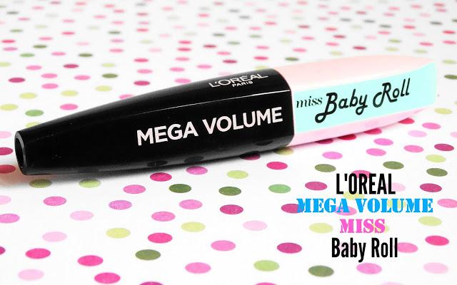 0239a dsc031442b252812529 - L'Oréal Mega Volume Miss Baby Roll Mascara
