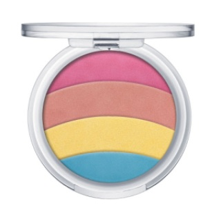 ess prismatic rainbow glow highlighter opened - ESSENCE ASSORTIMENT UPDATE HERFST/ WINTER 2017