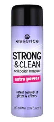 ess strongandclean nailpolishremover02 - ESSENCE ASSORTIMENT UPDATE HERFST/ WINTER 2017