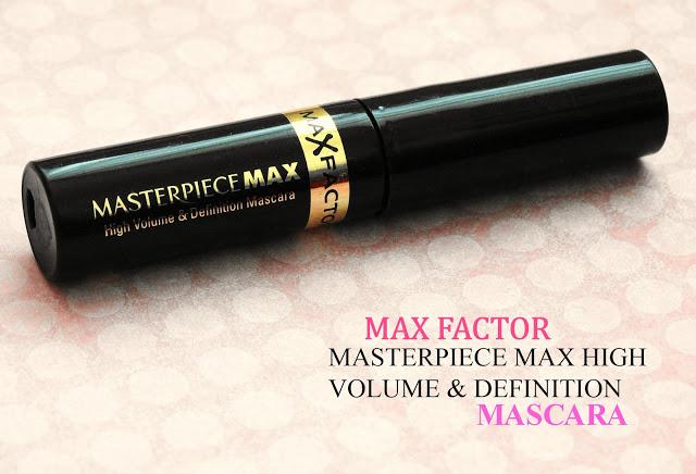 MAX FACTOR MASTERPIECE MAX HIGH VOLUME & DEFINITION MASCARA