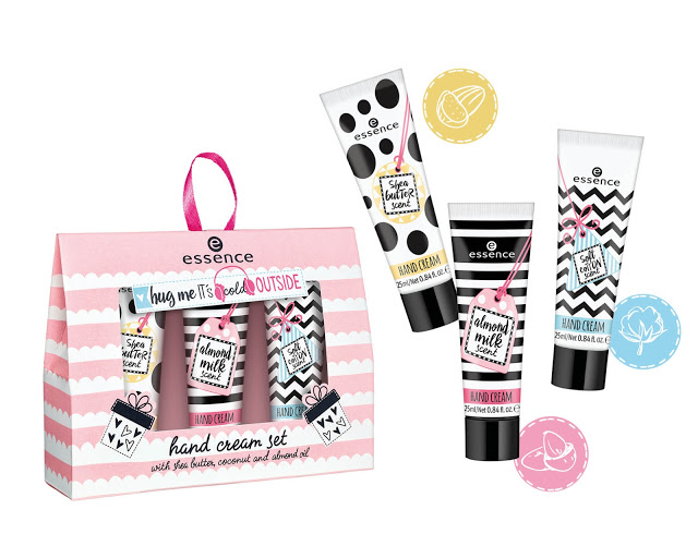 PREVIEW | ESSENCE HUG ME IT'S COLD OUTSIDE HAND CREAM SET