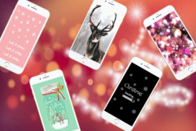 13fcf kerst - WINTER & KERST WALLPAPERS VOOR JE TELEFOON!