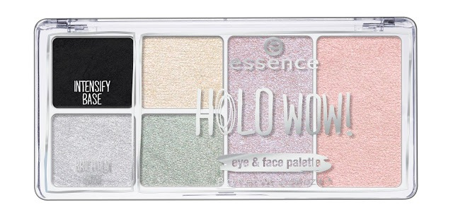 44076 essence holo wow eyeshadow palette image front view closed - ESSENCE ASSORTIMENT UPDATE SPRING SUMMER 2018