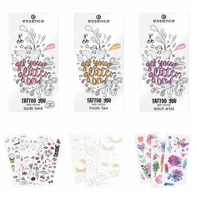 57658 body tattoo - ESSENCE ASSORTIMENT UPDATE SPRING SUMMER 2018