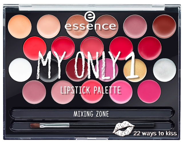 6e8f3 ess myonly1palette lip closed - ESSENCE ASSORTIMENT UPDATE SPRING SUMMER 2018