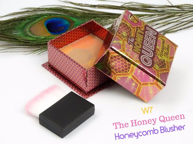 b0d0f dsc05722 edited - W7 THE HONEY QUEEN HONEYCOMB BLUSHER