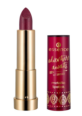 "1cf3d 320516 productimage image front2bview2bfull2bopen metallic2blipstick2b01 - PREVIEW | ESSENCE TREND EDITION ""ADVENTURE AWAITS - GET SUNKISSED"""